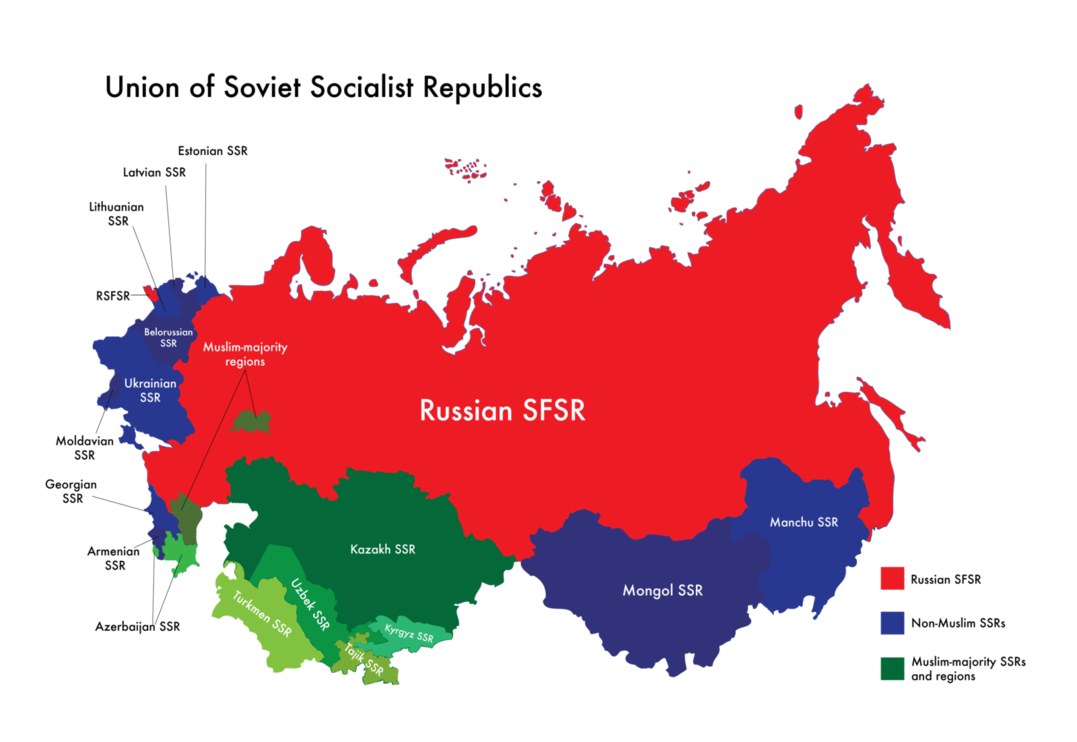 a comparison of two republics and their governments the united states and the soviet union It's widely believed outside the former republics of the ussr that soviet soviet union benefited their country, two soviet union beat the united states.